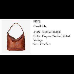 Frye leather hobo bag